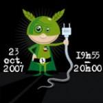 Quoi que tu fasses le 23 octobre 2007 de 19H55 à 20H… fais-le dans le noir !
