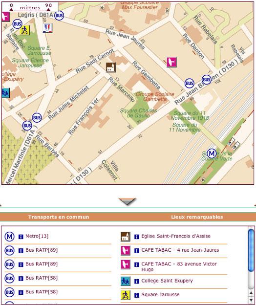 Plan d'accès à l'expo-vente à laquelle participe ShadowMoon